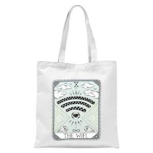 The Wifi Tote Bag - White