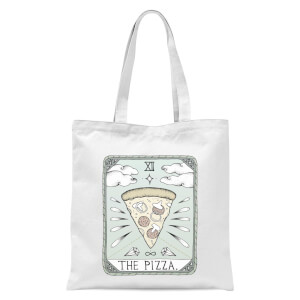 The Pizza Tote Bag - White
