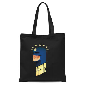 Captain Europe Tote Bag - Black