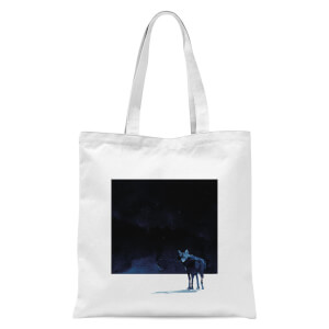 I'm Going Back Tote Bag - White