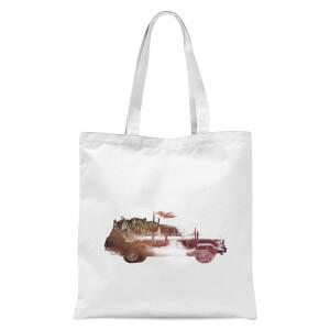 Drive Me Home Tote Bag - White