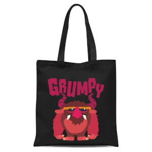 Grumpy Tote Bag - Black