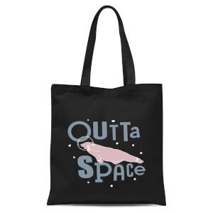 Outta Space Tote Bag - Black