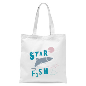 Star Fish Tote Bag - White