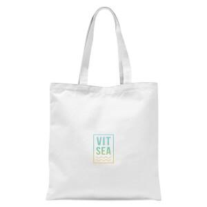 Vitamin Sea Tote Bag - White