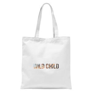 Wild Child Tote Bag - White