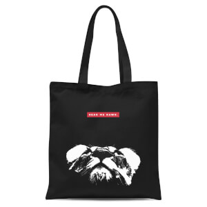 Hear Me Rawr. Tote Bag - Black