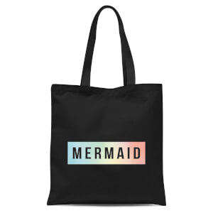 Mermaid Tote Bag - Black