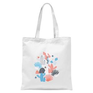 Cactus Tote Bag - White