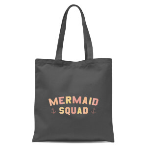 Mermaid Quad Tote Bag - Grey