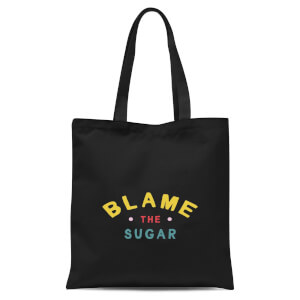 Blame The Sugar Tote Bag - Black