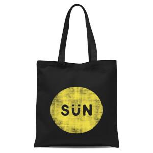 Sun Tote Bag - Black