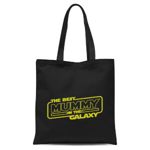 Best Mummy In The Galaxy Tote Bag - Black