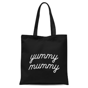 Yummy Mummy Tote Bag - Black