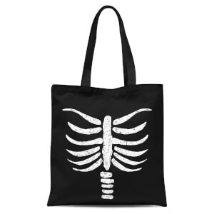 Skeleton Tote Bag - Black