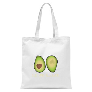 Lets Make Guacamole Tote Bag - White