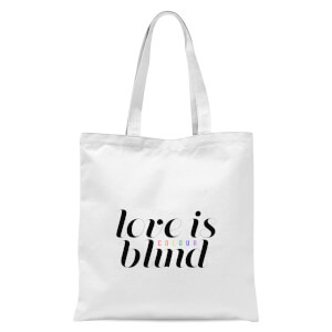 Love Is (Colour) Blind Tote Bag - White