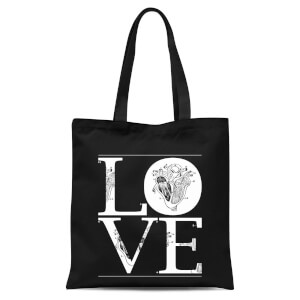 Anatomic Love Tote Bag - Black