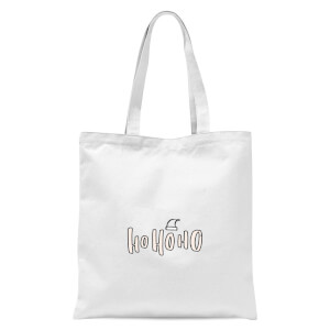 International Ho Ho Ho Tote Bag - White
