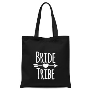 Bride Tribe Tote Bag - Black