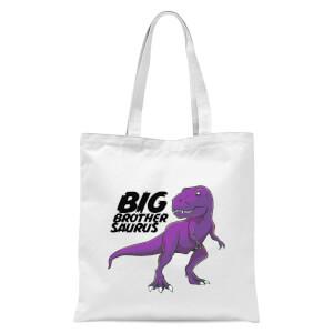 Im A Big Brothersaurus Tote Bag - White