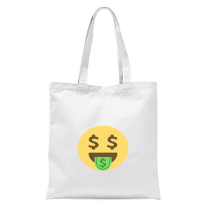 Dolla Face Tote Bag - White