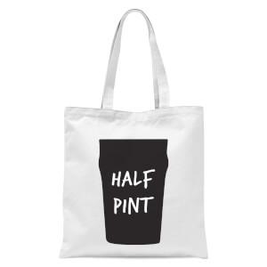 Half Pint Tote Bag - White