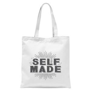 Self Made Tote Bag - White