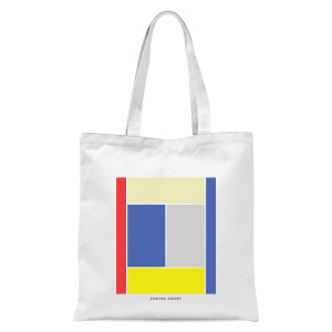 Center Court Tote Bag - White