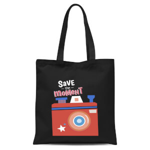 Save The Moment Tote Bag - Black