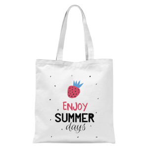 Enjoy Summer Days Tote Bag - White