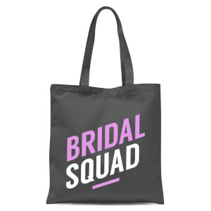 Bridal Squad Tote Bag - Grey