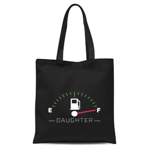 Daughter Fuel Full Tote Bag - Black