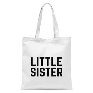 Little Sister Tote Bag - White