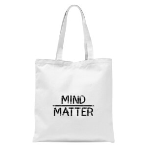 Mind Over Matter Tote Bag - White