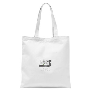 Make Magic Happen Tote Bag - White