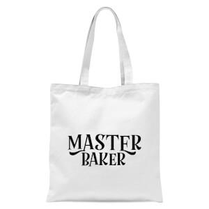 Master Baker Tote Bag - White