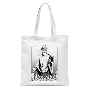 St. Patricks Day Tote Bag - White