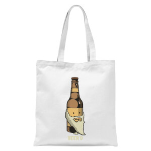 Beer'd Tote Bag - White