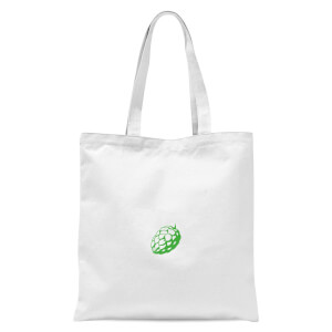 Hop Heart Tote Bag - White