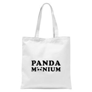 Pandamonium Tote Bag - White