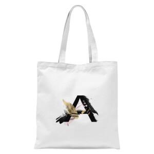 A Tote Bag - White