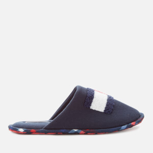 Tommy Hilfiger Men's Flag Badge Slippers - Midnight