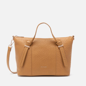 Ted Baker Women's Olmia Knotted Handle Small Tote Bag - Tan