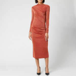 Vivienne Westwood Anglomania Women's Taxa Dress - Rust