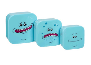 Funko Homeware Rick and Morty Mr. Meeseeks Plastic Storage Set