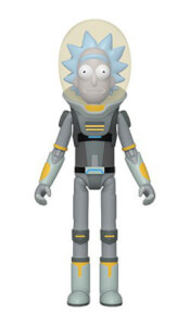 Rick & Morty Space Suit Rick Action Figure