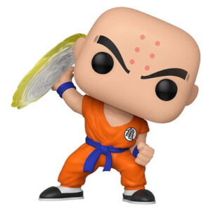 Dragon Ball Z - Krillin mit Destructo Disc Pop! Vinyl Figur