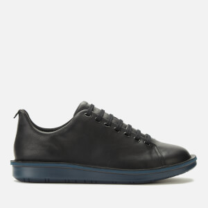 Camper Men's Formiga Leather Low Top Trainers - Black