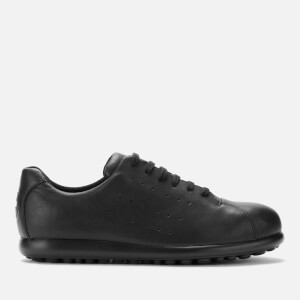 Camper Men's Pelotas Leather Low Top Shoes - Black